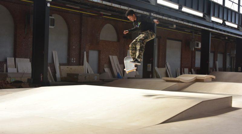 Nieuw skateparcours is een eerste stap naar invulling van Parkloods aan Dam