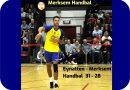 Eynatten – Merksem Handbal  31 – 28