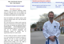 Onze Dominiek Fissers in de krant HLN dankzij Voltaren. Toffe promo voor Hankido Taekwondo en onze vereniging BAEKMA te Ekeren