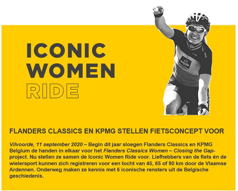 Iconic Women Ride