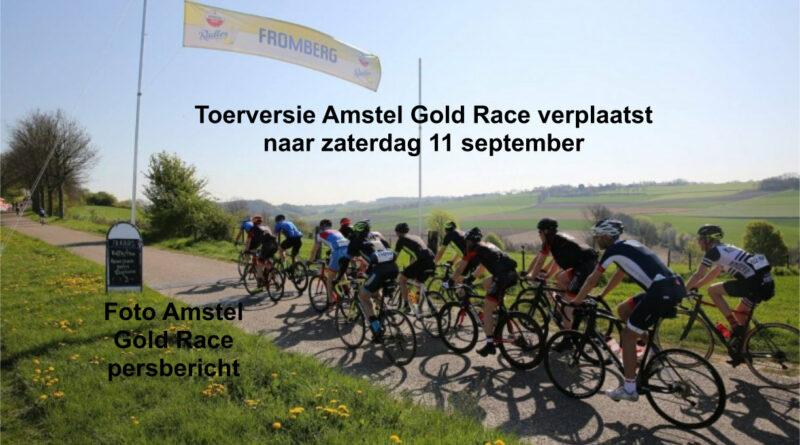 Toerversie Amstel Gold Race verplaatst naar zaterdag 11 september